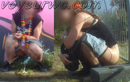 Rock Festival Piss 2015_854-859 (urgent piss at rock concert voyeur)