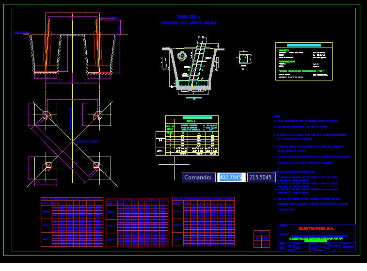 Planos gratis cimentacion de torres for Arquitectura en linea gratis