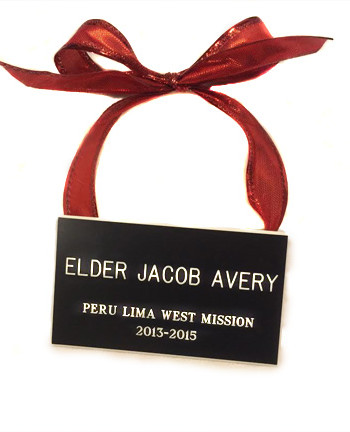 Name Tag Ornaments