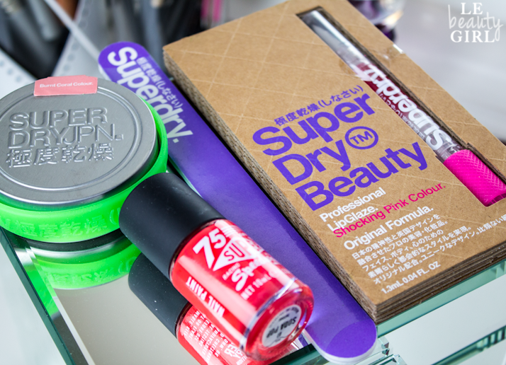 Superdry Launches New Beauty Range (Review & Pictures)