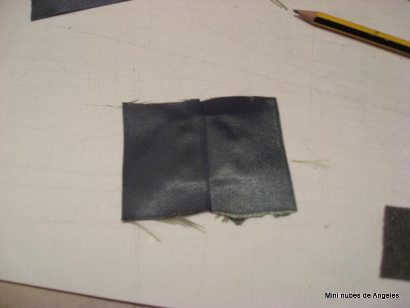 Mini nubes de angeles tutorial como tapizar sillas - Espuma para tapizar ...