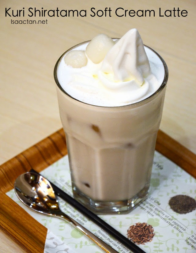 Kuri Shiratama Soft Cream Latte - RM13.80