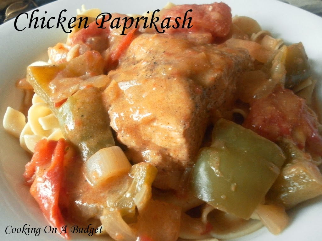 Cooking On A Budget: Chicken Paprikash