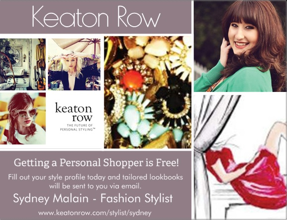cover+postcard Working as a Fashion Stylist!: Keaton Row