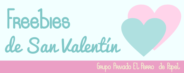 Freebies para San Valentin: Grupo Privado de Facebook
