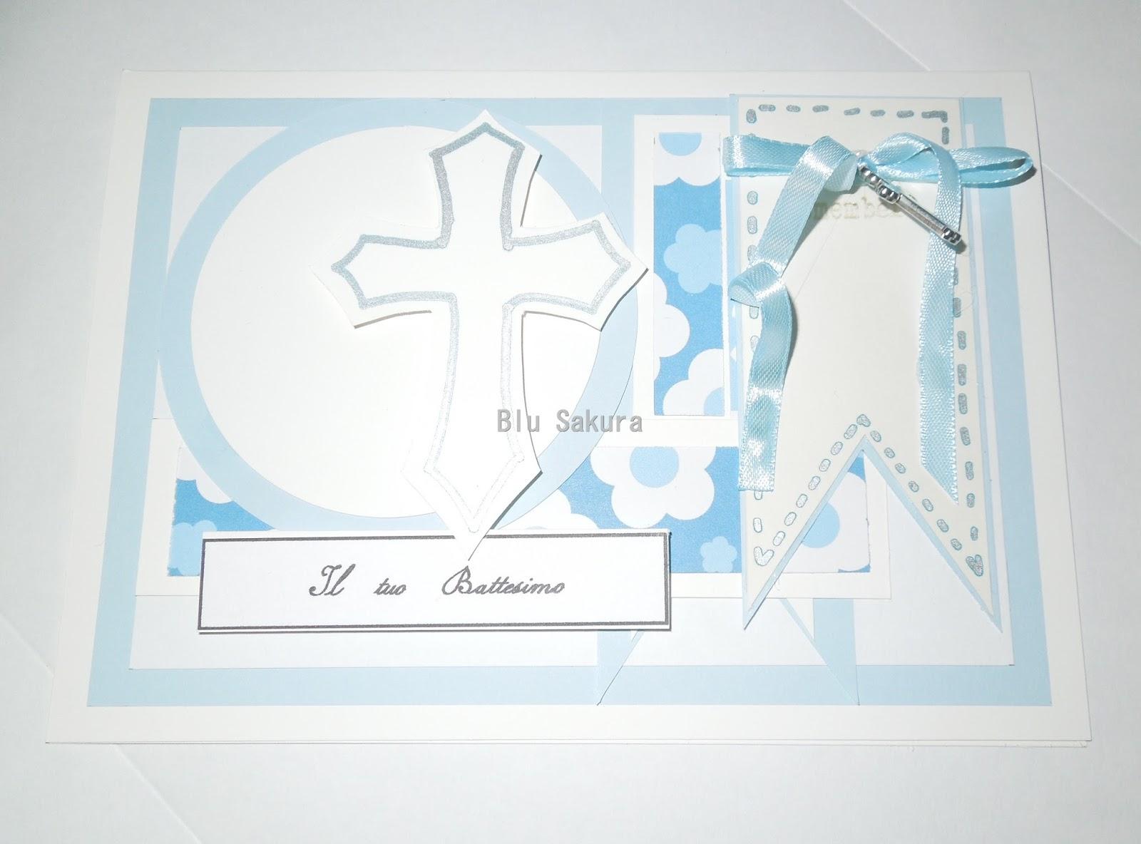 spesso Blu Sakura : E' tempo di battesimi BZ36