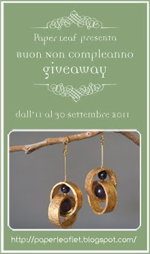 Buon Non Compleanno Giveaway