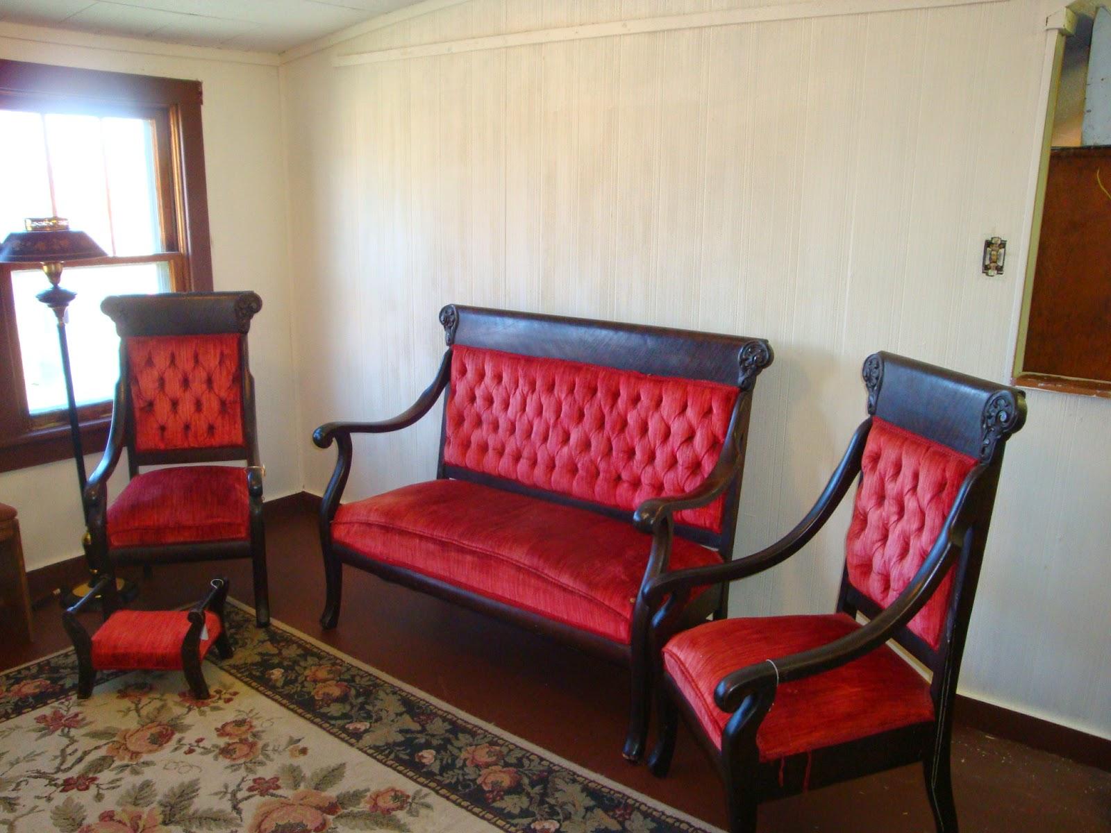 antiques galore gal 4 piece victorian parlor set for sale