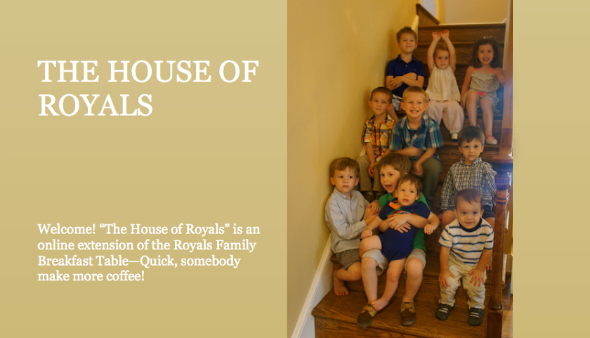 THE HOUSE OF ROYALS