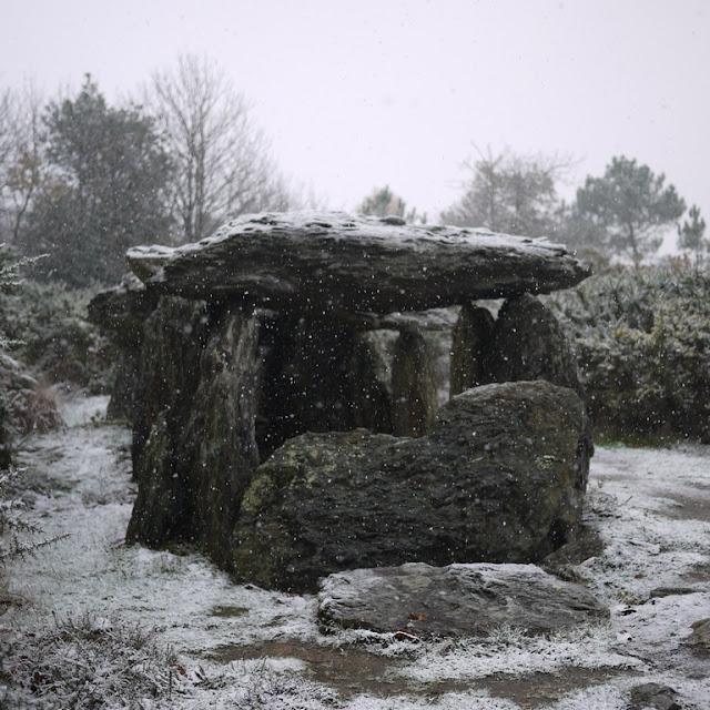 Allée couverte de Tréal, mégalithes de Saint-Just