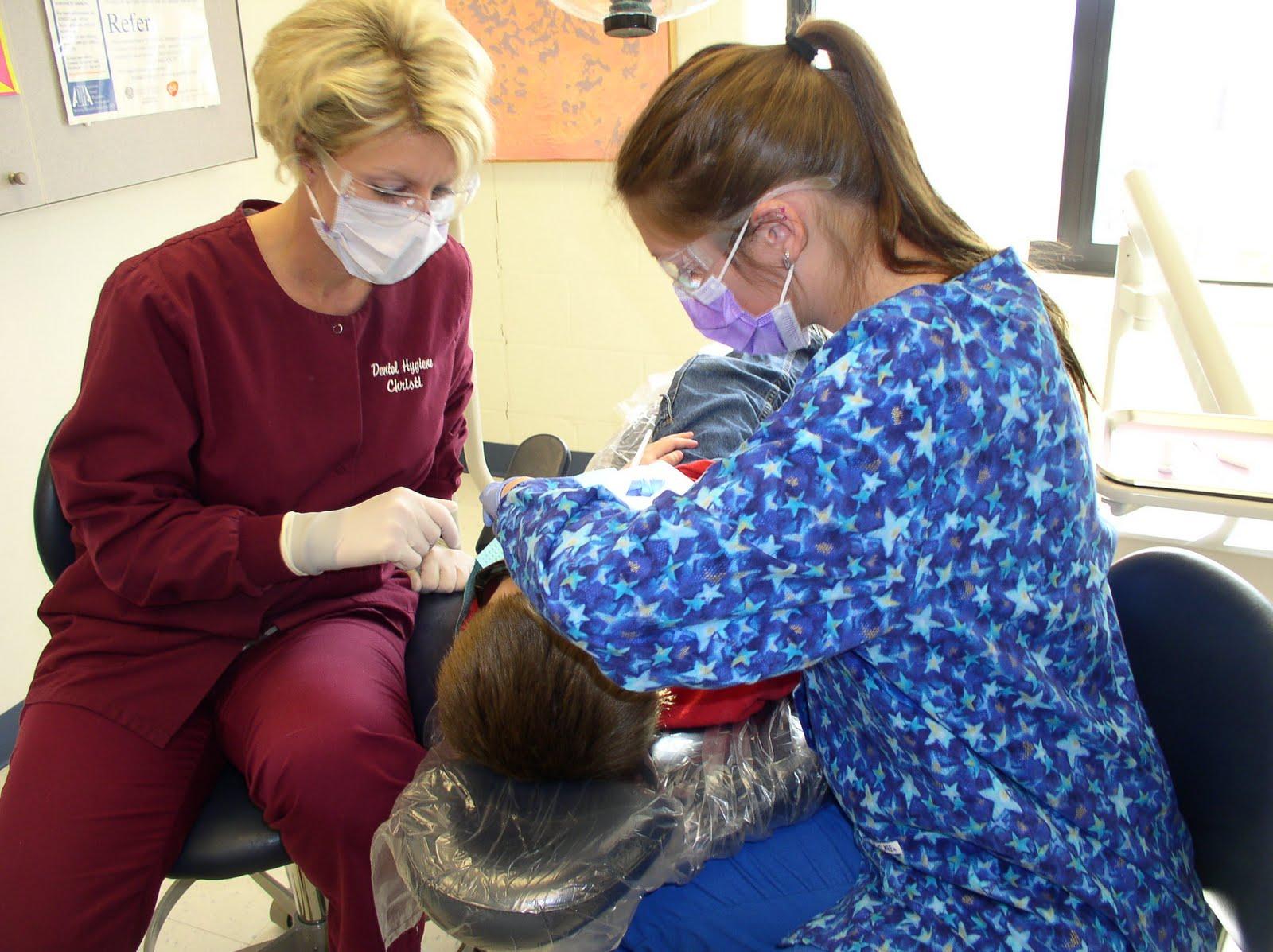 Dental Hygienist math au college