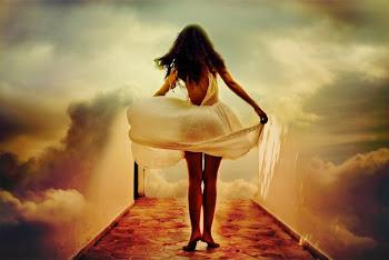 y tocas en el viento/una pluma/que sera anhelo