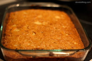 Carrot Coconut Oatmeal Cake