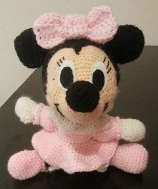 Minnie Mouse Amigurumi Paso A Paso : Mis Blanditos Amigurumis: Minnie Mouse Amigurumi
