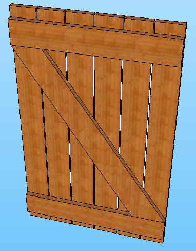 Manual para la construcci n de tu vivienda for Como hacer una puerta con machimbre