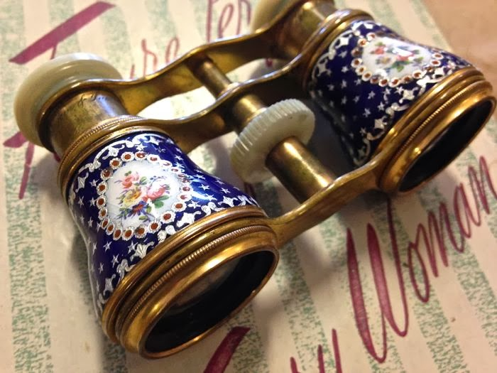 19th century English opera glasses