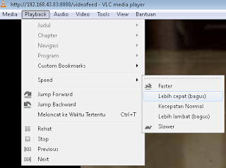 Playback VLC Media Player