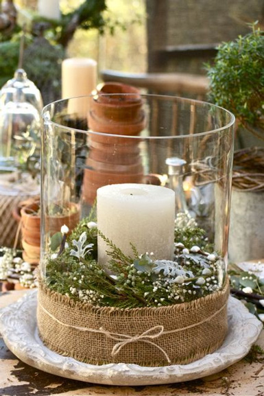 Belle maison christmas decorating theme natural wonderland