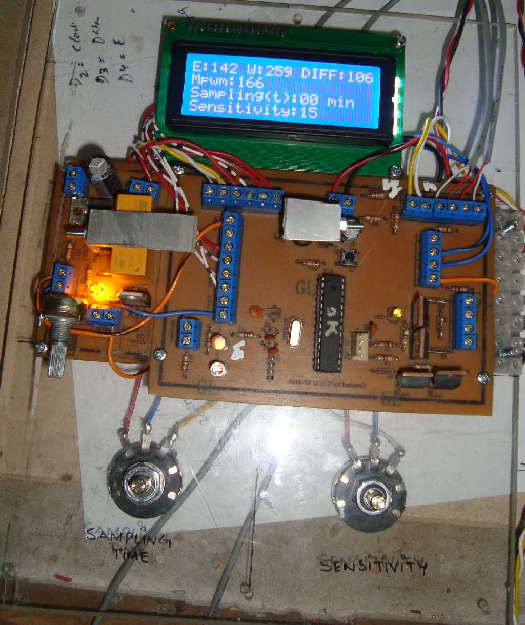 Green Energy Adventure By Mechanical Engineer Winding Up The Wiring Solar Panel Box At 2359 Hrs Is Programmed To Move Toward East And Stopped Limit Switch