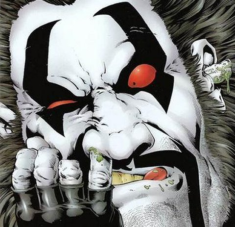 Lobo (DC Comics) Character Review - Face