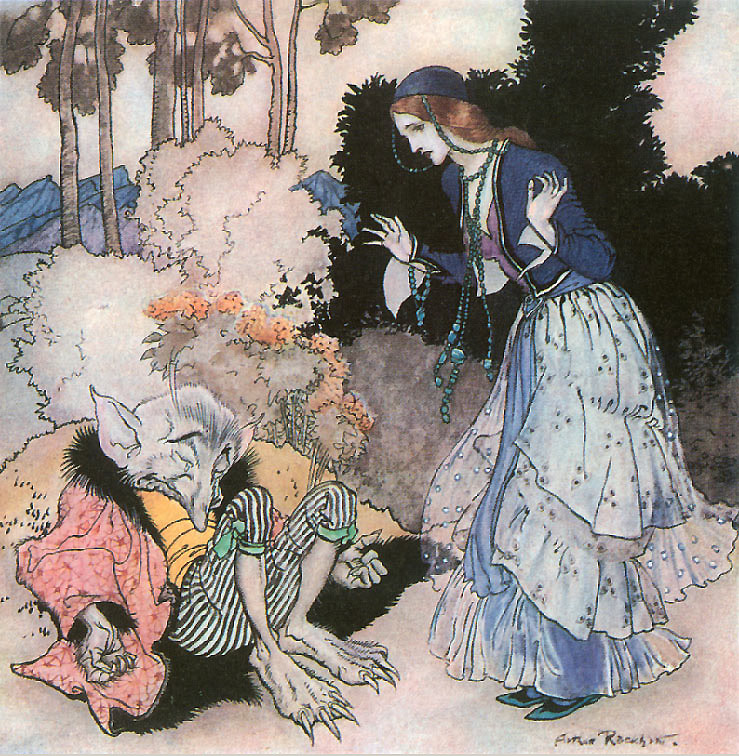arthur rackham beauty and the beast