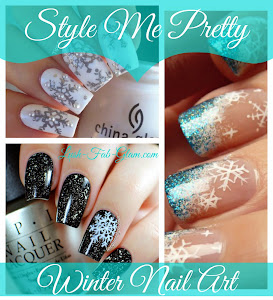 These gorgeous snowflake nail designs are just what you need to jazz up your winter manicure.