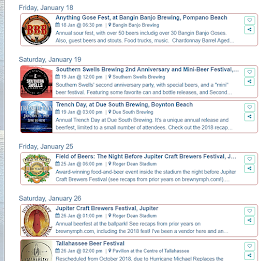 On Tap Florida Events