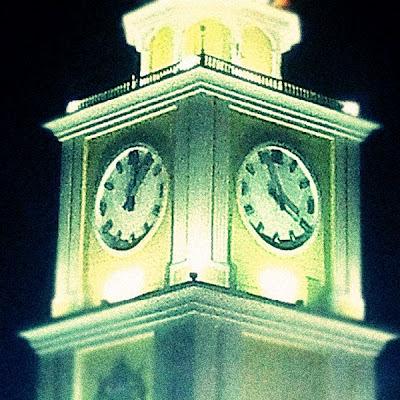 Menara Jam Di Dataran Bandaraya - Sudah Rosak!