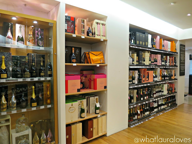 Selfridges Trafford Centre Foodhall Event Wine Shop
