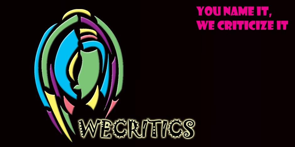We Critics