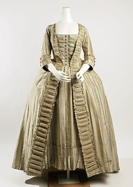 18th Century Costume - robe a la Francais - Historical Costume