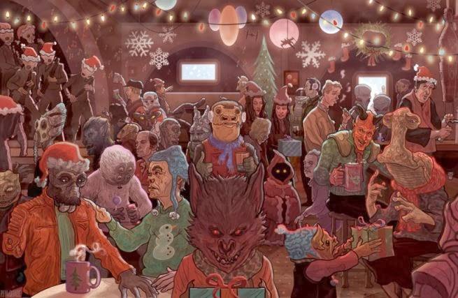 """фото Новый год в стиле """"Звёздный войны"""""""