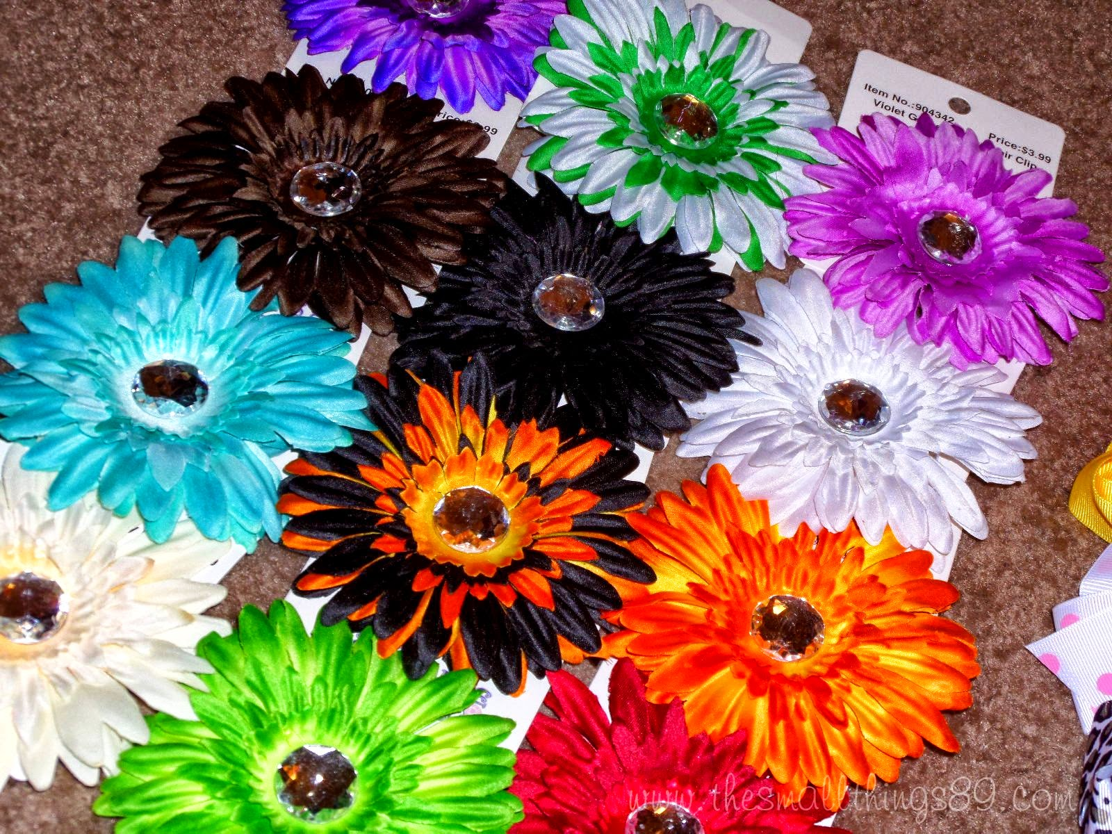 Always Under Pay Boutique Bows Gerber Daisy Flower Clips Review