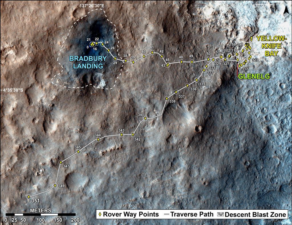 Seguimiento del Curiosity en Marte - Página 4 MSL_TraverseMap_Sol0351_fulltraverse-br2