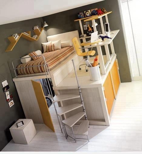 imgbd - kleine slaapkamer efficient inrichten ~ de laatste, Deco ideeën