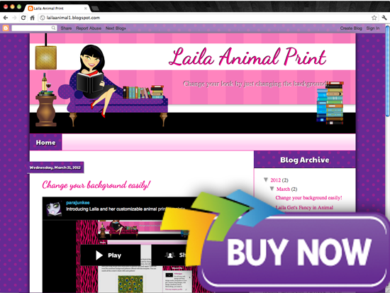 purchase darkhair Avatar Design Templates   Lailas Book Blogger Design