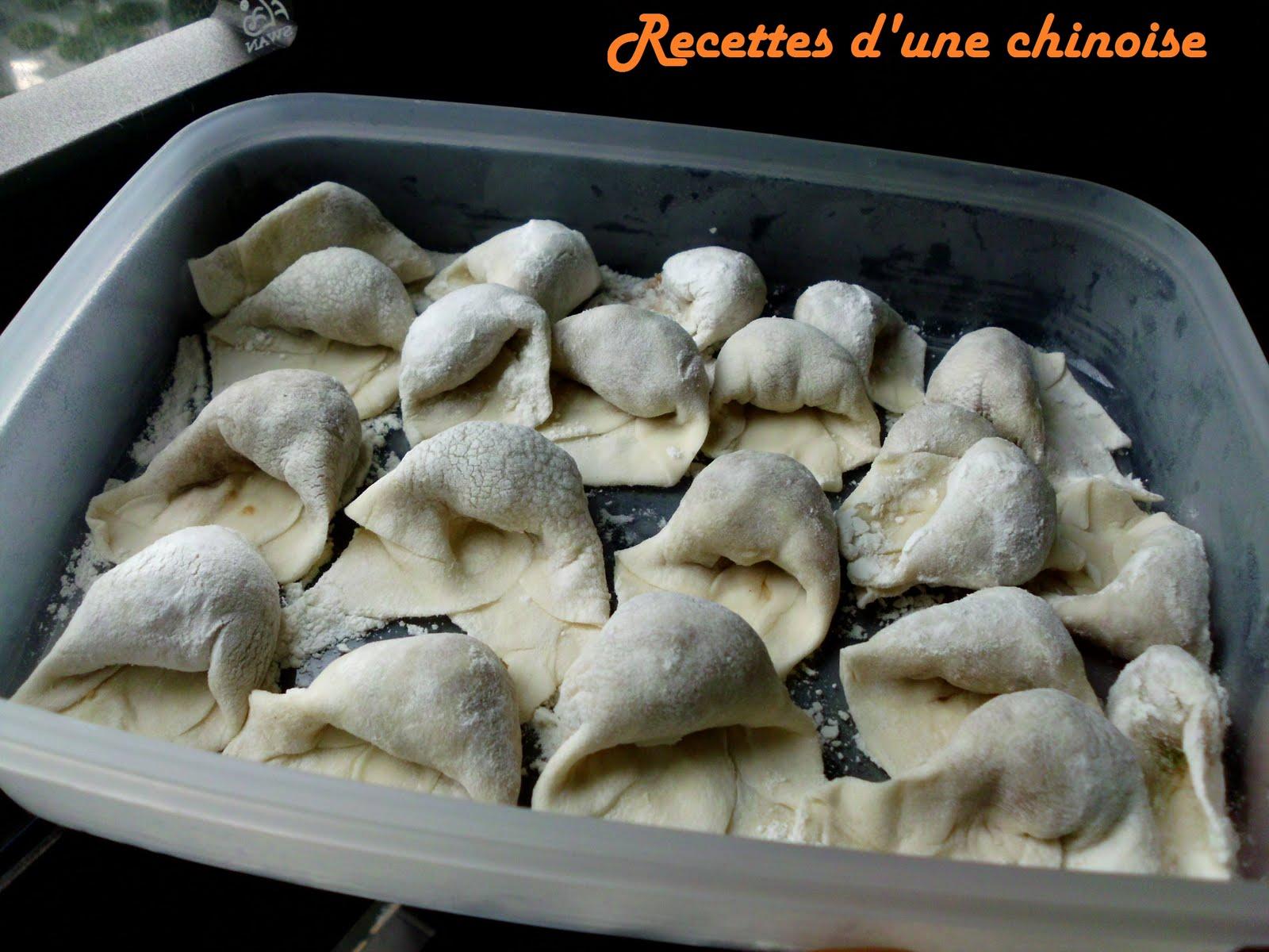 recettes d 39 une chinoise won ton petits raviolis dans la soupe h n tun. Black Bedroom Furniture Sets. Home Design Ideas