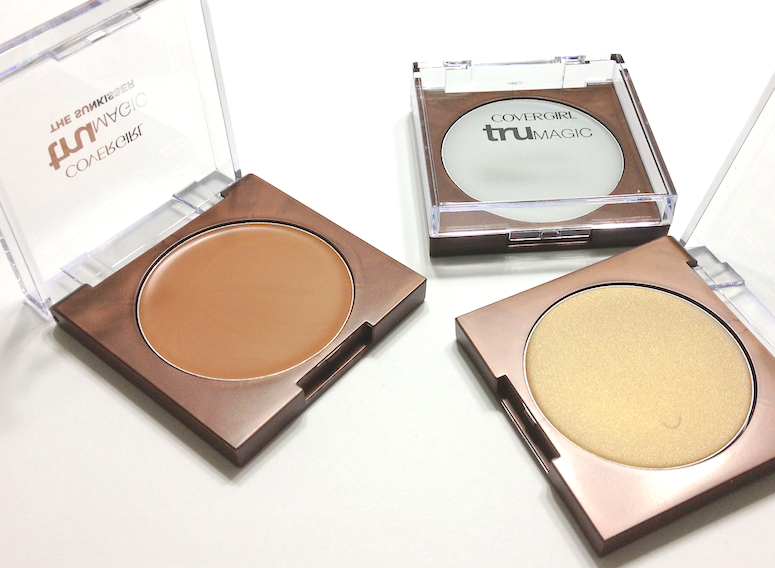 Cover Girl TruMagic, TruMagic The Sunkisser and TruMagic The Luminizer