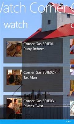 Watch Corner Gas for Windows Phone
