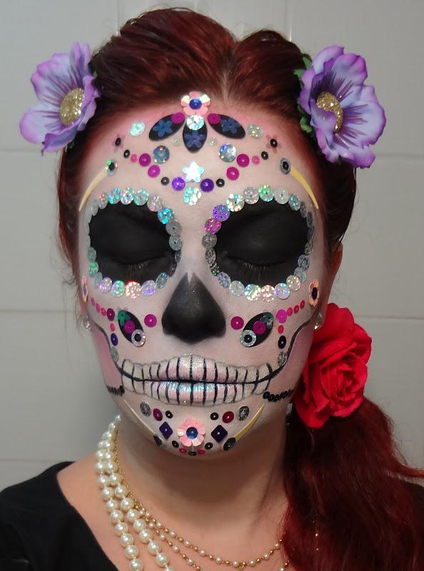 De Outros Estilos Da Maquiagem  Tem Tamb  M A De Caveira Mexicana
