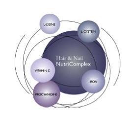 wellness produtos para a queda de cabelo muito eficaz e unhas frágeis e cabelo fino