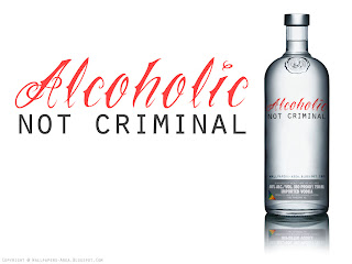 alcoholic not criminal