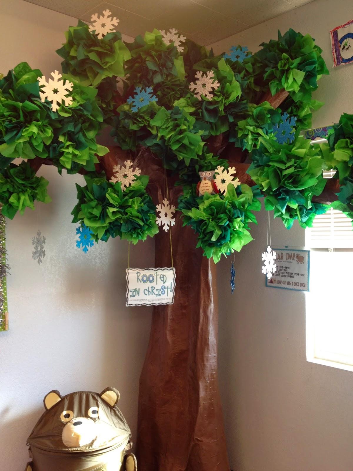 Classroom Decor Tree ~ Dodd it up diy tree