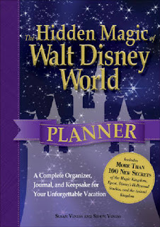 The Hidden Magic of Walt Disney World Planner Cover
