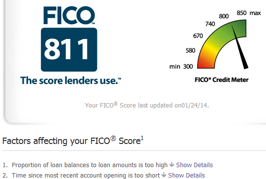 how to bring my credit score 800