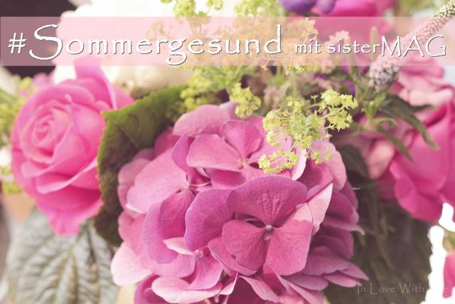 #Sommergesund Event mit sisterMAG