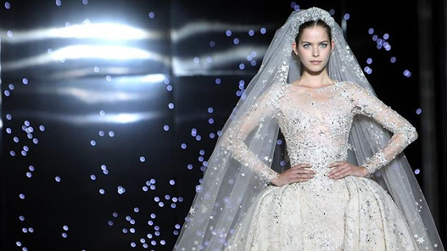 You Are the Belle of the Ball in this 2016 Zuhair Murad Wedding Gown