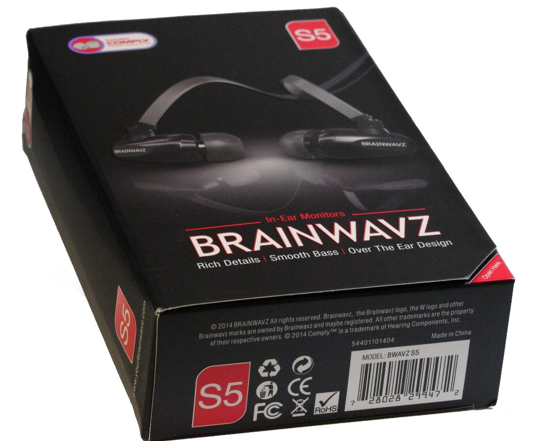 Verpackung Brainwavz S5
