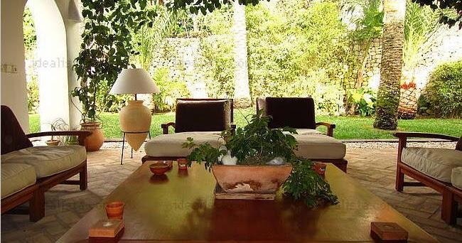 Fotos de terrazas terrazas y jardines terrazas de casas de campo rusticas - Jardines de casas de campo ...