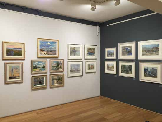 Paintings in the Annual Exhibition of the Wapping Group of Artists